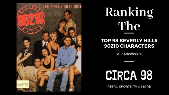 Beverly Hills 90210 Characters (Graphic)
