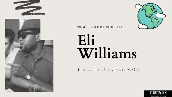 Eli Williams Boy Meets World