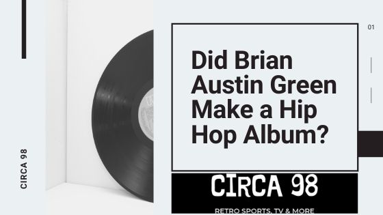 Brian Austin Green Rap Album (Blog Post Cover)