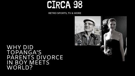 Topanga's Parents Divorce