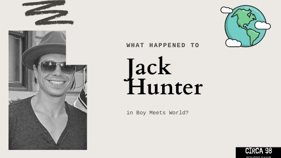 Jack Hunter Boy Meets World