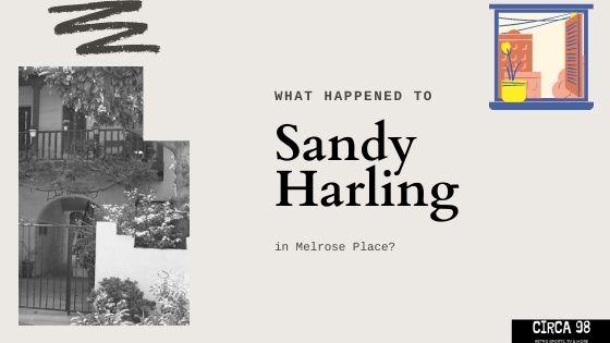 Sandy Harling Melrose Place