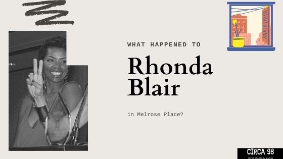 Rhonda Blair Melrose Place